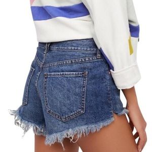 Free People Soft & Relaxed Cut Off Shorts